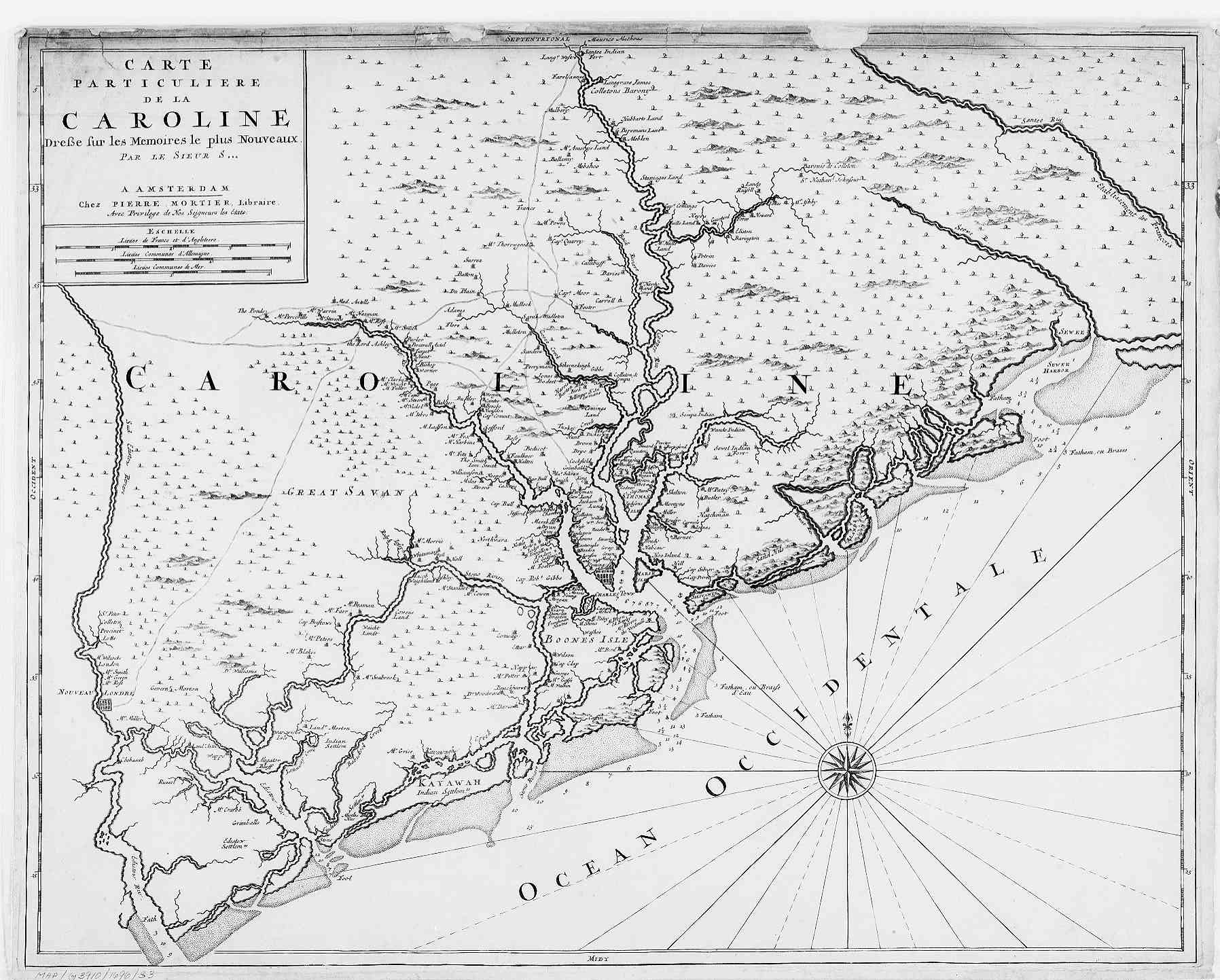 Hargrett Rare Library Map Collection  Colonial America