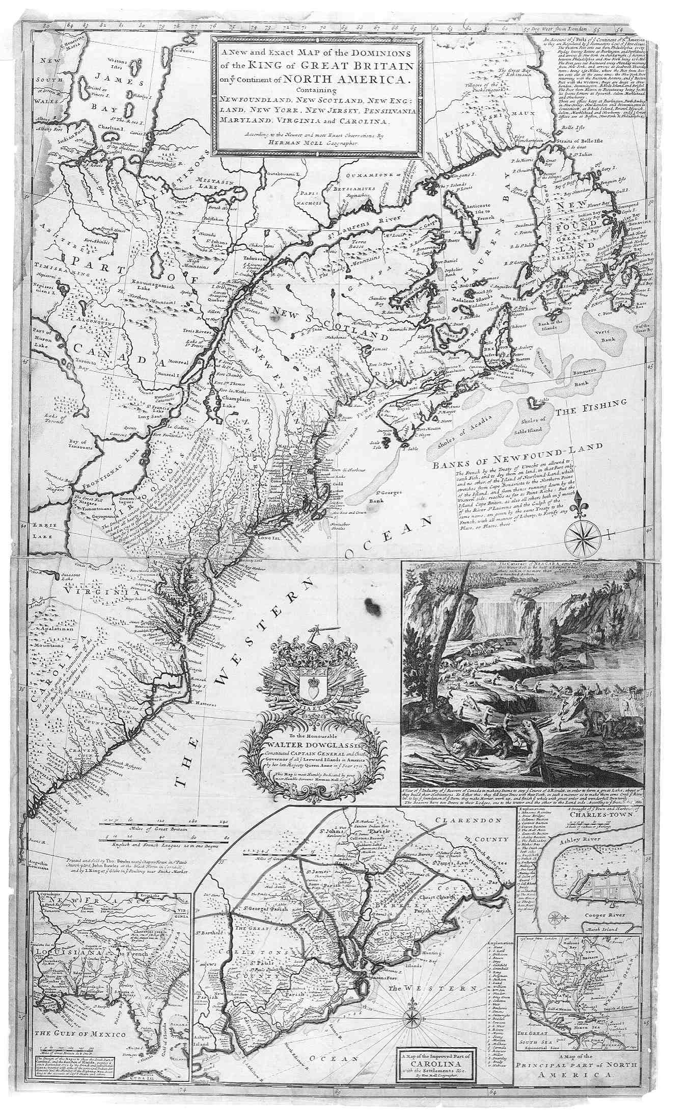 North Carolina County Map - 1920s north eastern us map