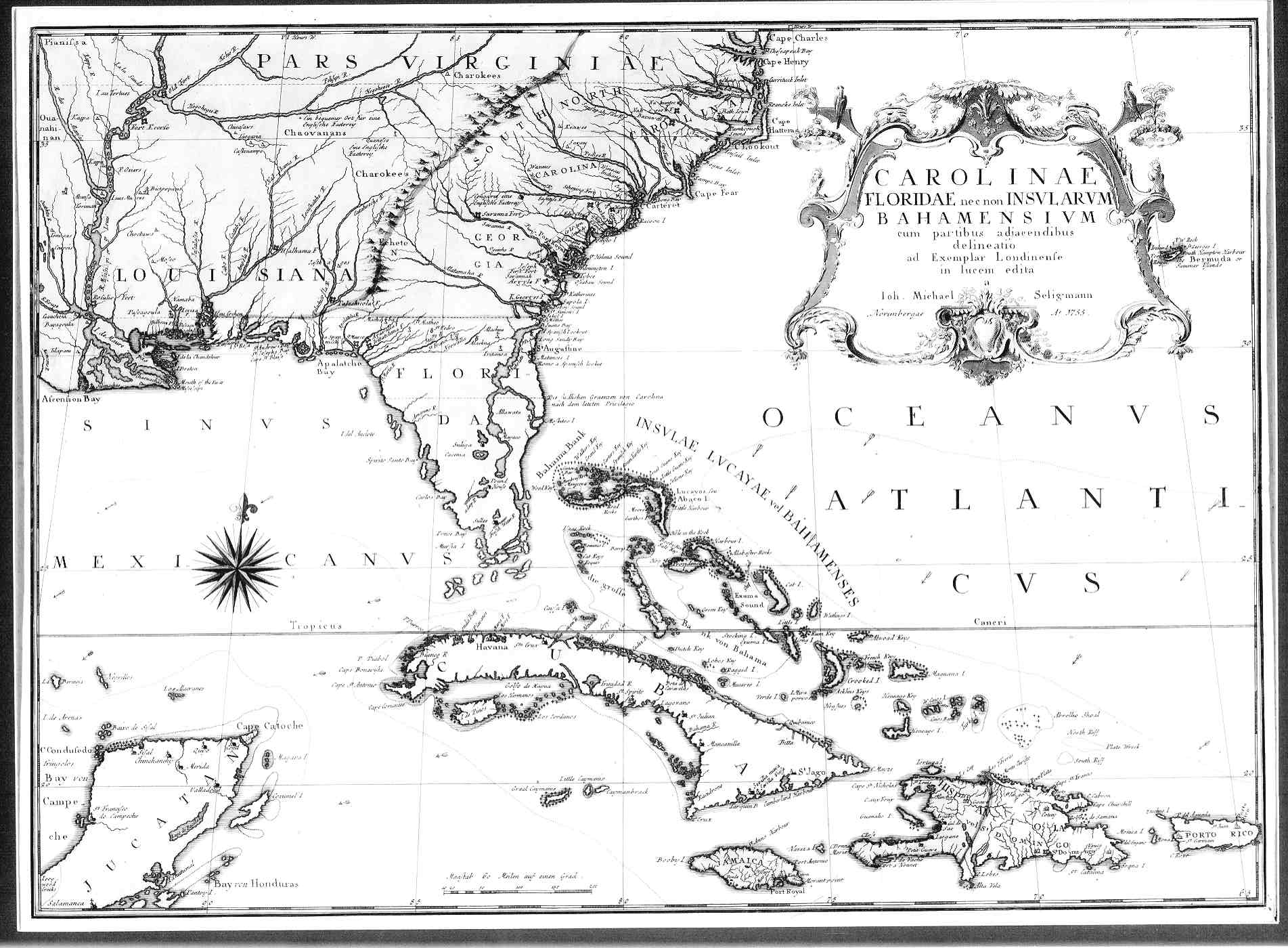 Image Result For Map Of North America In 1754