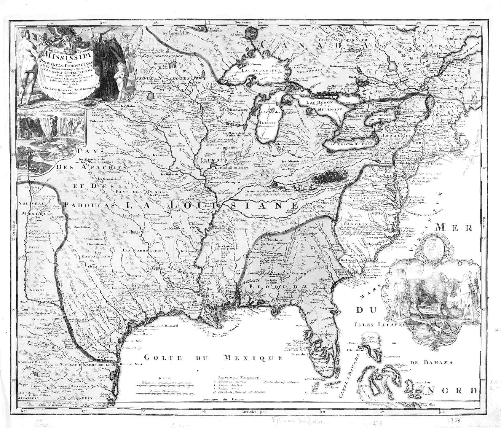 Digital History - Map of us during 1763