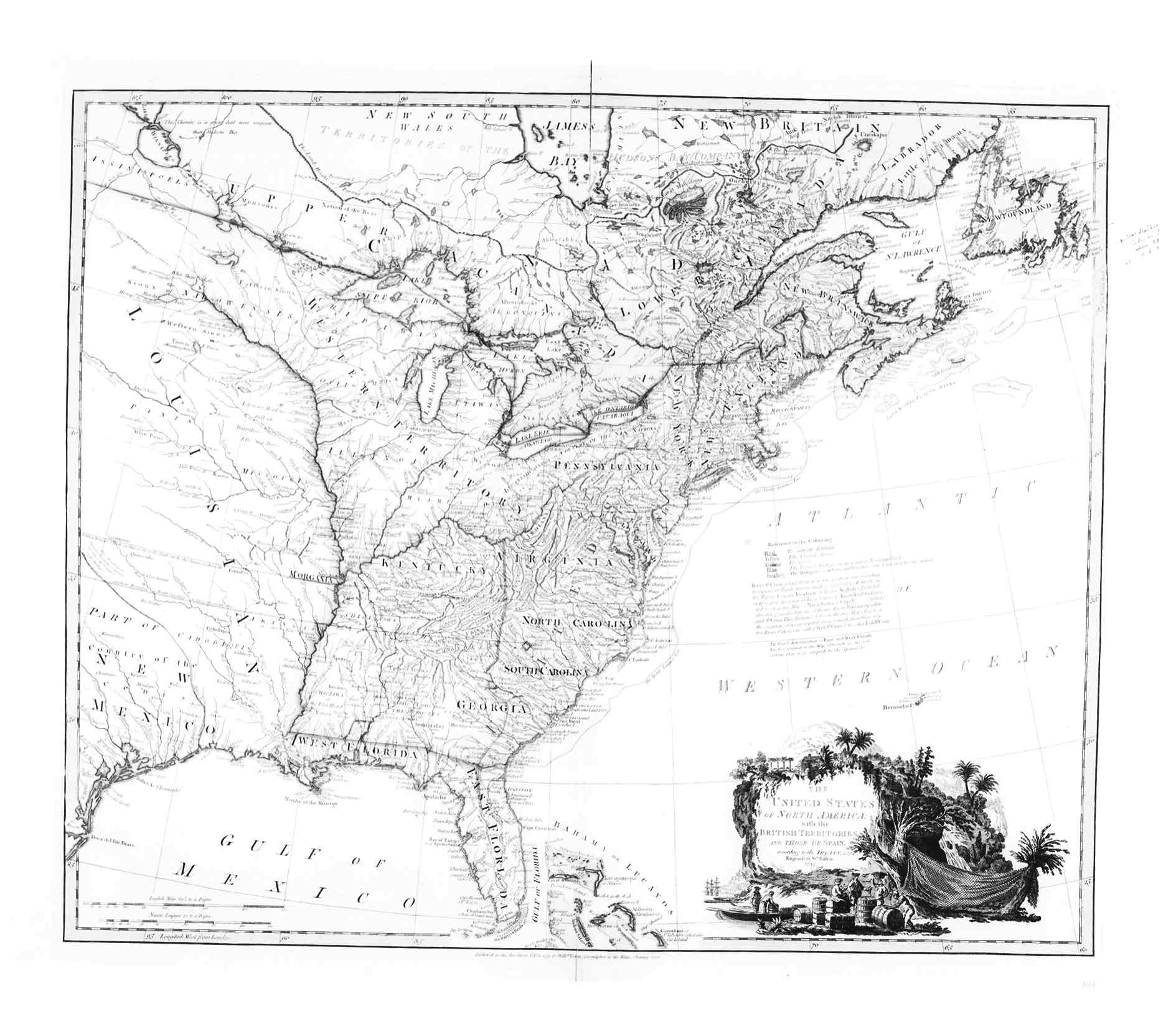 1796 The United States Of North America