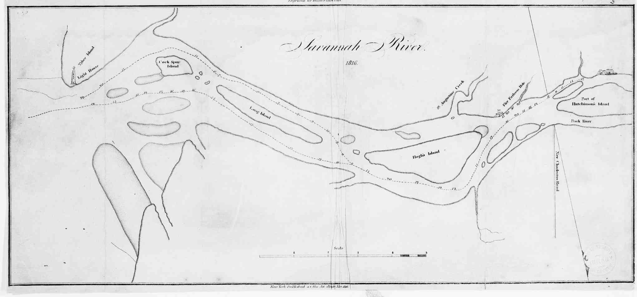 Hargrett Library Rare Map Collection Savannah The Coast - Savannah river us map