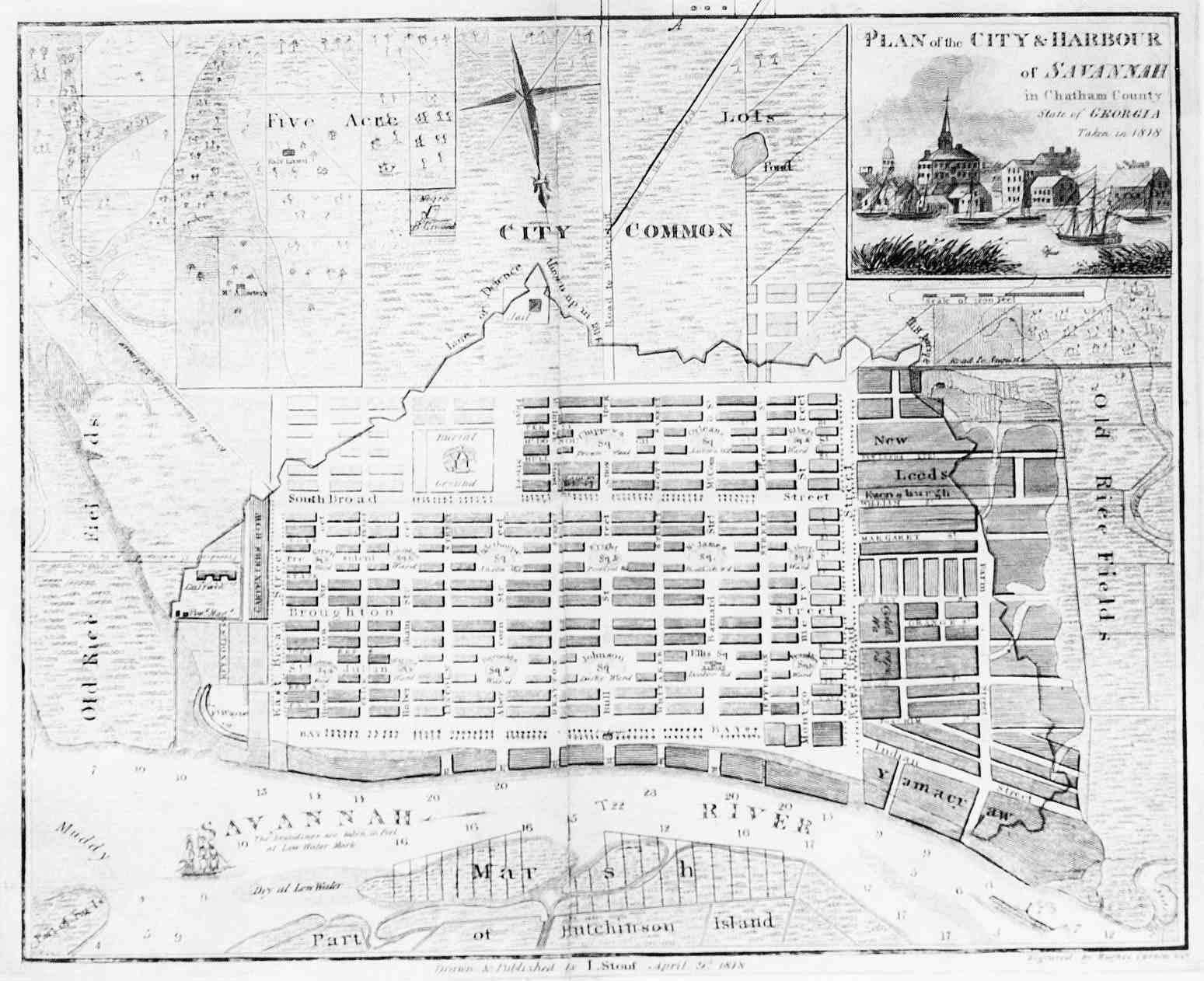 savannah historic district map pdf