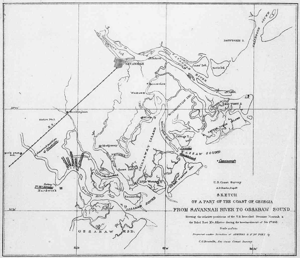 Rare Map Collection American Civil War