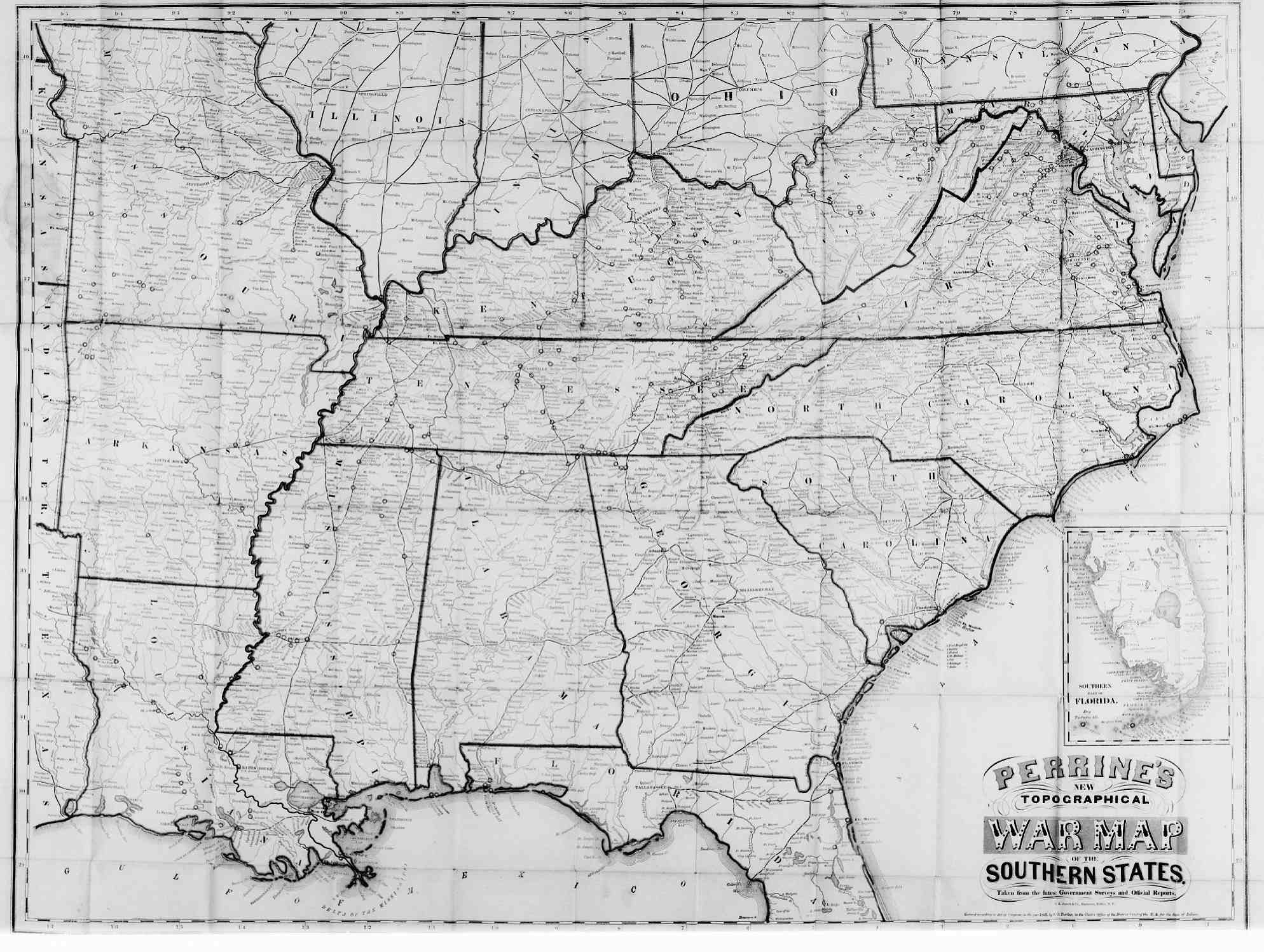 Hargrett Library Rare Map Collection American Civil War - Map of atlanta civil war