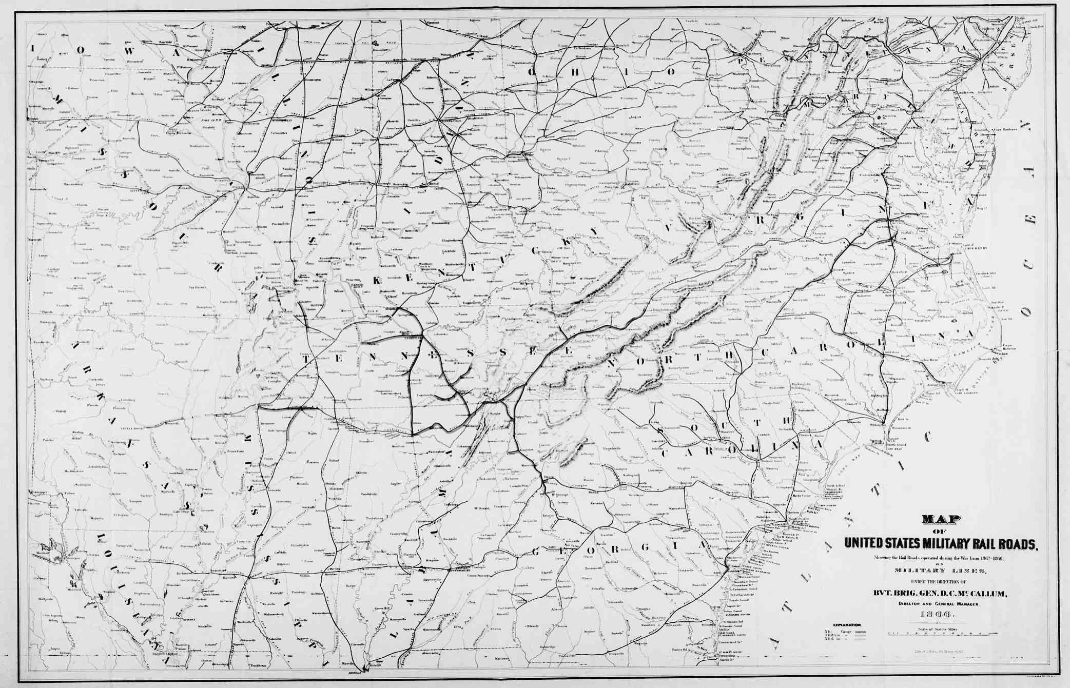 Hargrett Library Rare Map Collection - Transportation