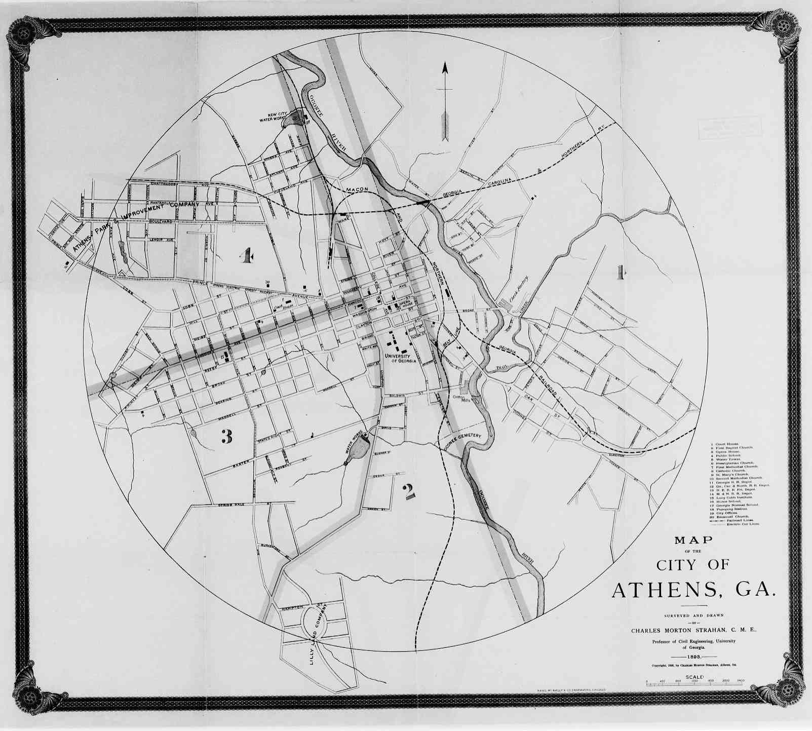 Map Of Athens Ga Athens   Clarke County GA (Georgia) | Maps