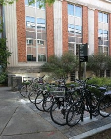 Bulldog Bikes at Main Library