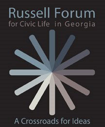 Logo for Russel Forum for Civic Life in Georgia