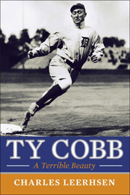 "book cover, ""Ty Cobb: A Terrible Beauty"""