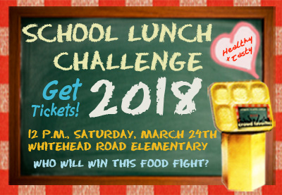 School Lunch Challenge Logo