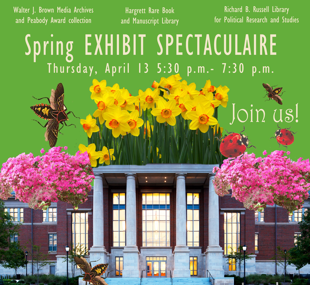 spring exhibits reception logo