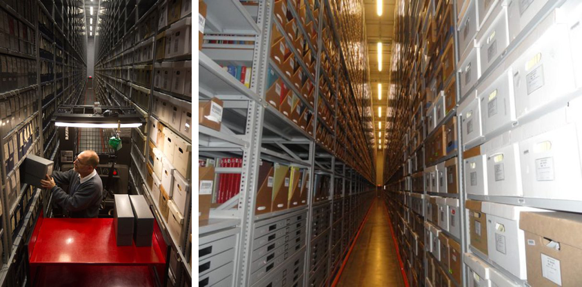 Archival of collections in Special Collections Library