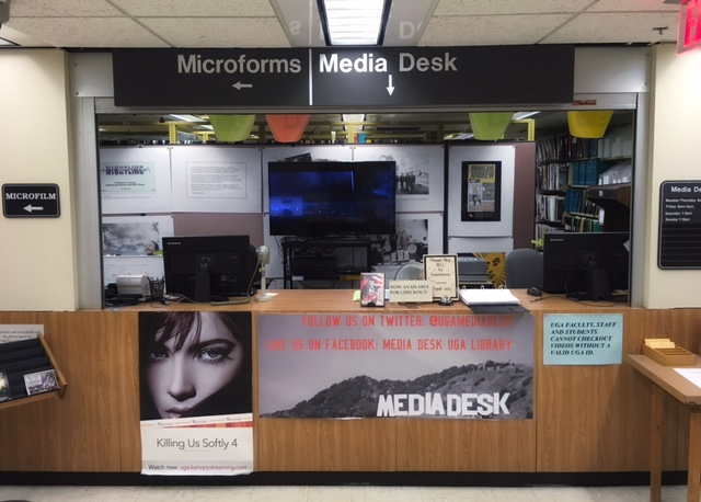 Media Desk at Main Library