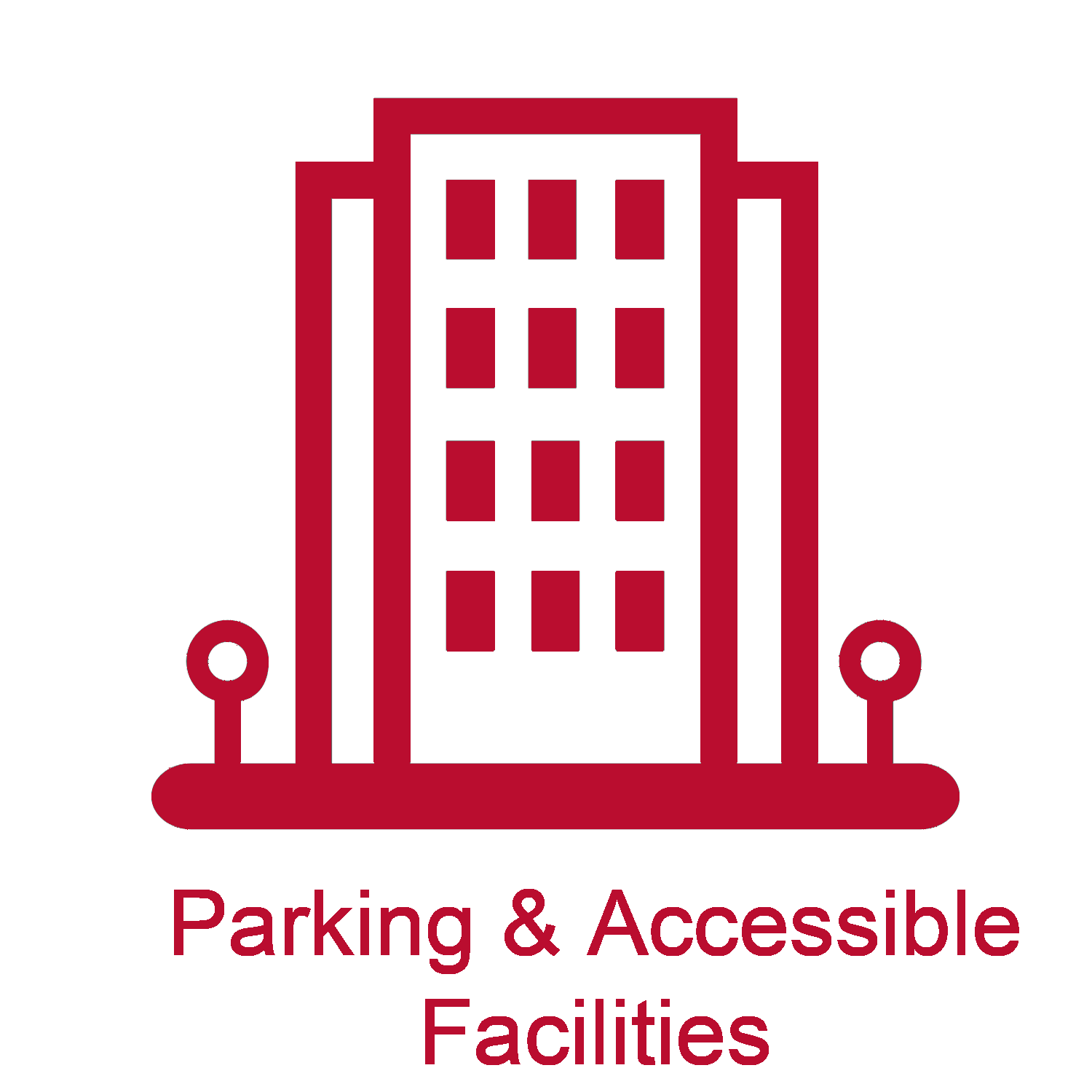 parking and accessible facilities