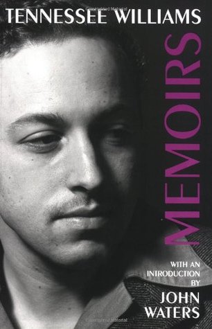 Cover, Memoirs by Tennessee Williams