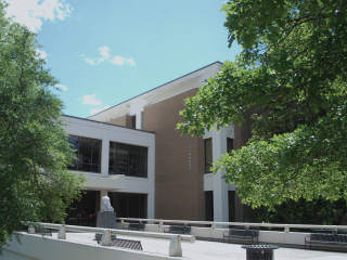 Exterior of Science Library